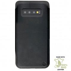 Coque eco-cuir Uunique Nutrisiti BIO Samsung Galaxy S10 Noir