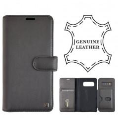 Etui Coque cuir 2-en-1 Uunique Wallet Samsung Galaxy S10 Noir