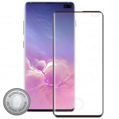 Protection écran verre trempé Eiger 3D GLASS Edge Samsung Galaxy S10 Plus