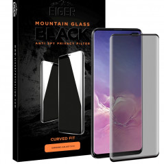 Protection écran verre trempé Eiger 3D GLASS PRIVACY Samsung Galaxy S10 Plus