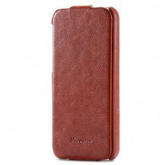 Etui flip vertical Vintage Apple iPhone 5/5S/SE