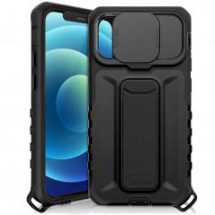 Coque antichoc ITSKINS SLIDELOCK STAND Apple iPhone 12 PRO MAX