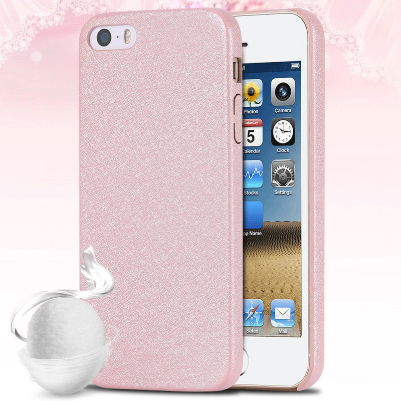 Coque SILK SKIN Apple iPhone 5/5S/SE Rose clair