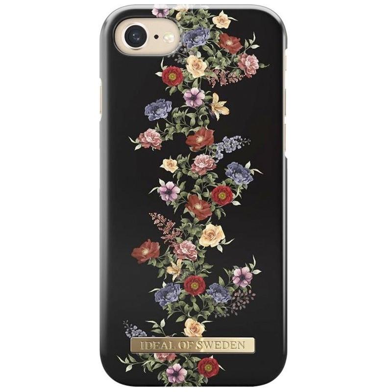 Coque rigide iDeal of Sweden Dark Floral Apple iPhone 7/8/6S/6/SE 2020
