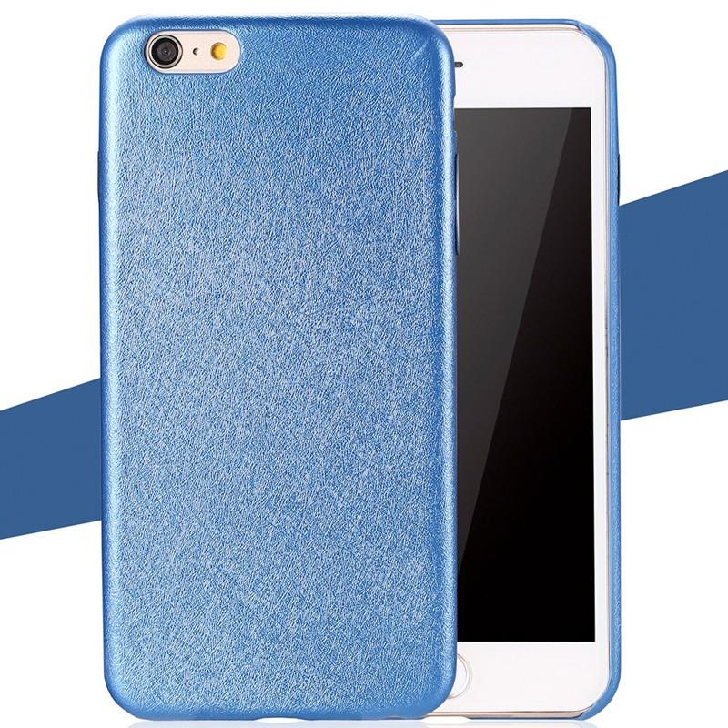 Coque SILK SKIN Apple iPhone 6/6S Bleu