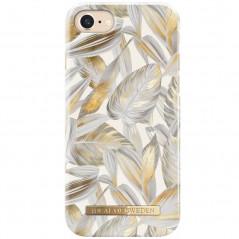 Coque rigide iDeal of Sweden Platinum Leaves Apple iPhone 7/8/6S/6/SE 2020