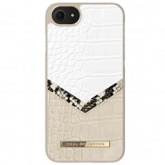 Coque rigide iDeal of Sweden Dusty Cream Python Apple iPhone 7/8/6S/6/SE 2020