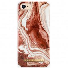 Coque rigide iDeal of Sweden Golden Marble Series Apple iPhone 7/8/6S/6/SE 2020