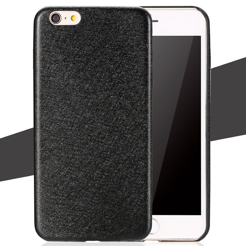 Coque SILK SKIN Apple iPhone 6/6S Plus Noir