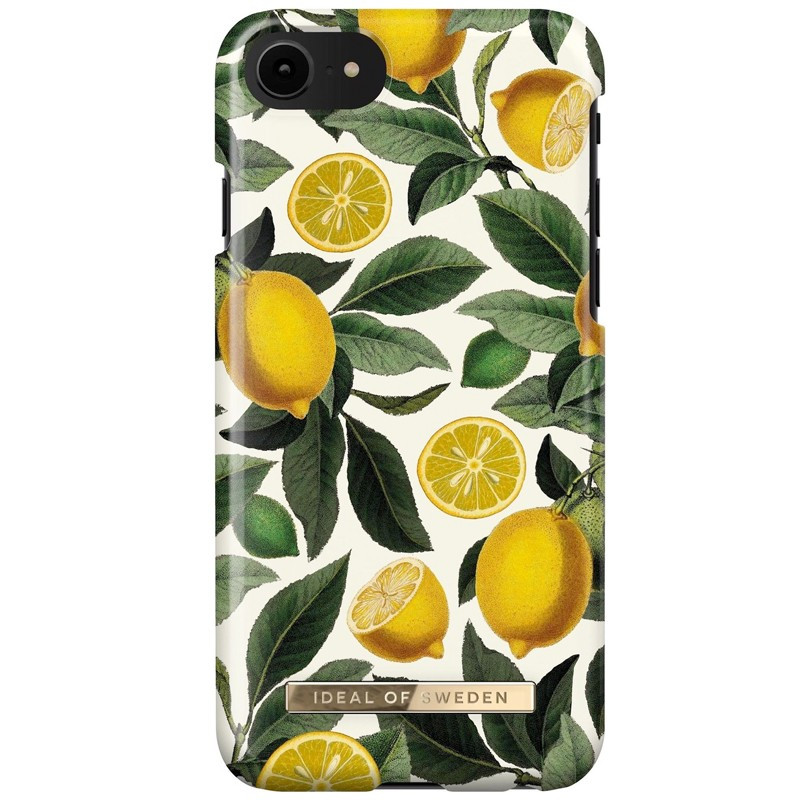 Coque rigide iDeal of Sweden Lemon Bliss Apple iPhone 7/8/6S/6/SE 2020
