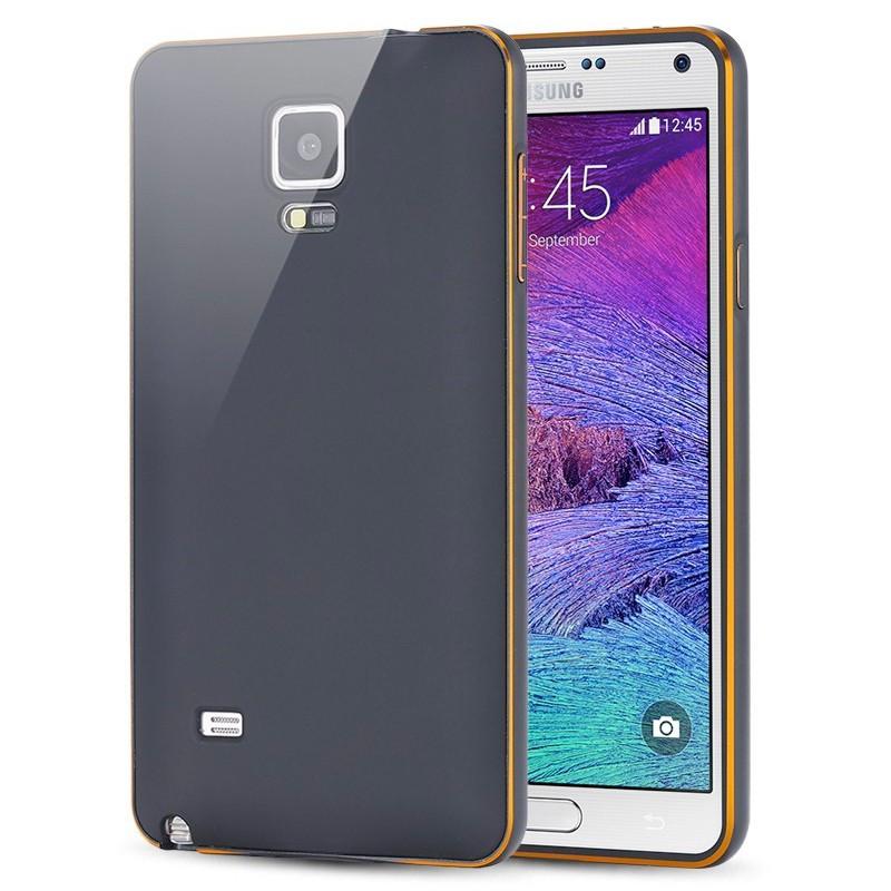 Coque aluminium Samsung Galaxy Note 4 Noir