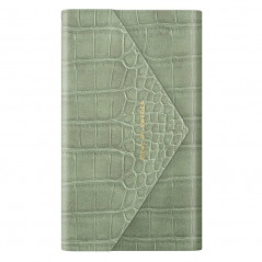 Etui iDeal of Sweden Sage Croco Envelope Clutch Apple iPhone 7/8/6S/6/SE 2020