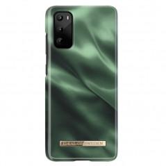 Coque rigide iDeal of Sweden Emerald Satin Samsung Galaxy S20/S20 5G