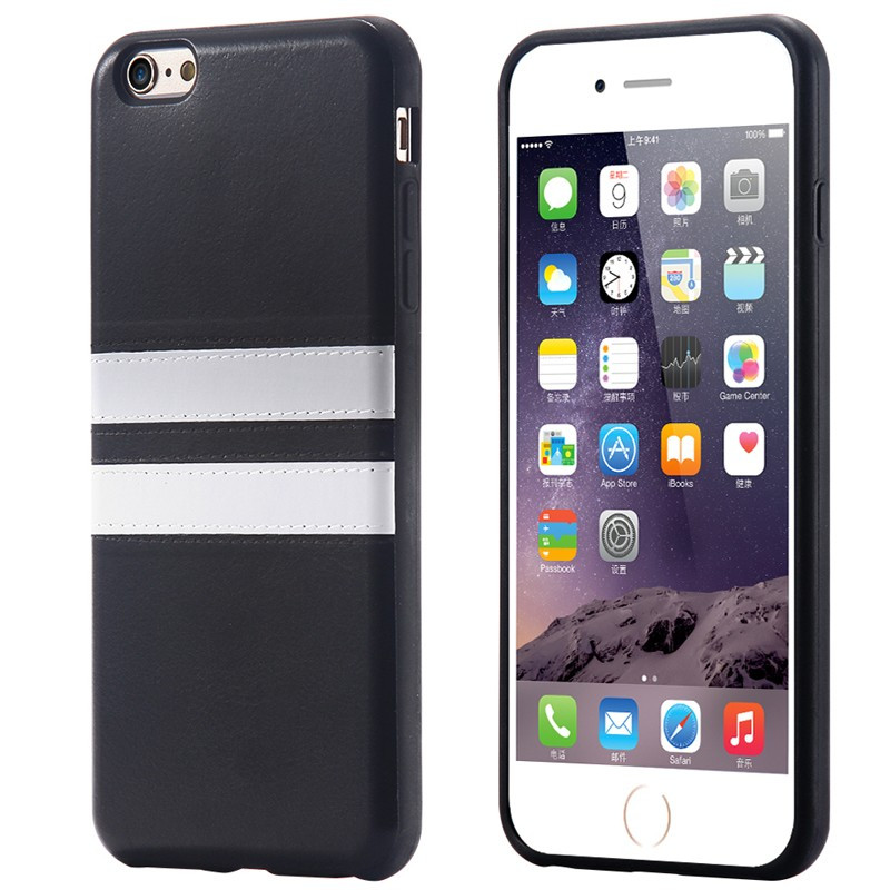 Coque GT RACING EDITION Apple iPhone 6/6S Noir
