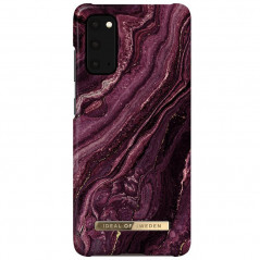 Coque rigide iDeal of Sweden Golden Plum Marble Samsung Galaxy S20/S20 5G