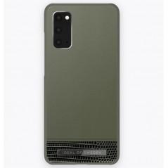 Coque rigide iDeal of Sweden Metal Woods Samsung Galaxy S20/S20 5G