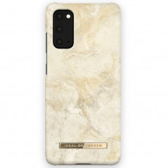 Coque rigide iDeal of Sweden Sandstorm Marble Samsung Galaxy S20/S20 5G