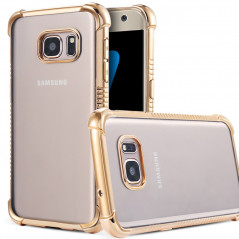 Coque silicone gel PLATING FRAME Samsung Galaxy S7