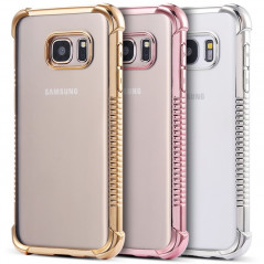 Coque silicone gel PLATING FRAME Samsung Galaxy S7 Edge