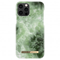 Coque rigide iDeal of Sweden Crystal Green Sky Apple iPhone 12/12 PRO