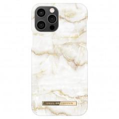 Coque rigide iDeal of Sweden Golden Pearl Marble Apple iPhone 12/12 PRO