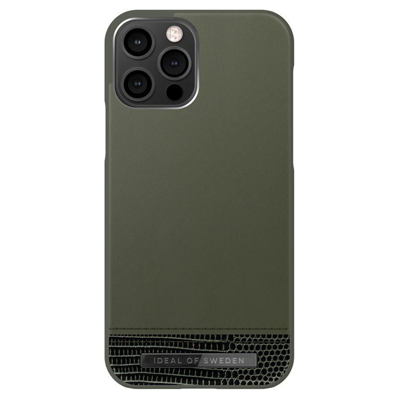 Coque rigide iDeal of Sweden Metal Woods Apple iPhone 12/12 PRO