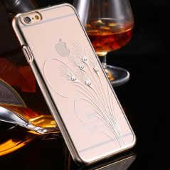 Coque transparente Glitter Diamond Apple iPhone 6/6s Peafowl