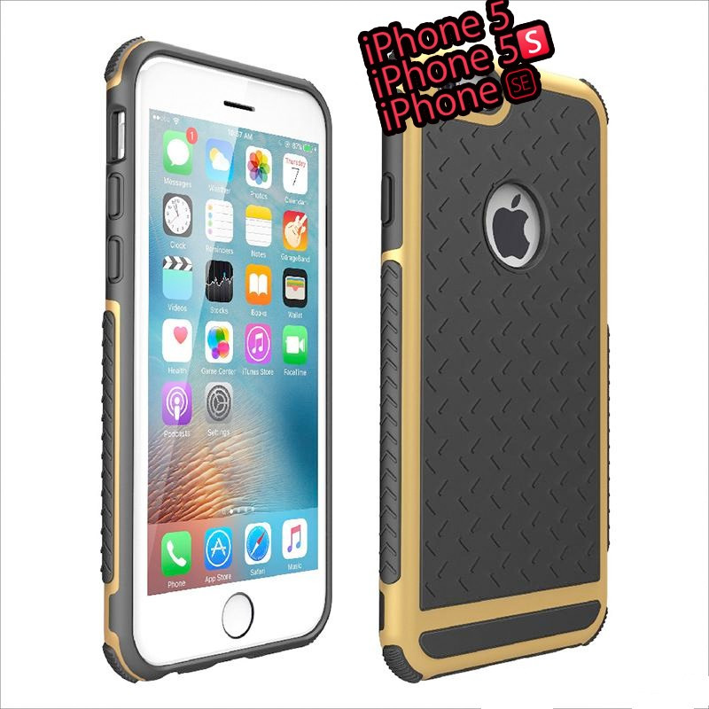 Coque FLOVEME Paladin Series Apple iPhone 5/5S/SE Or