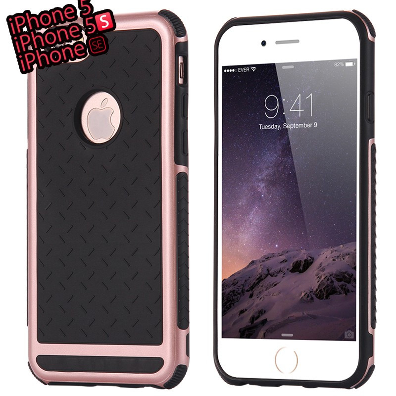 Coque FLOVEME Paladin Series Apple iPhone 5/5S/SE Or Rose