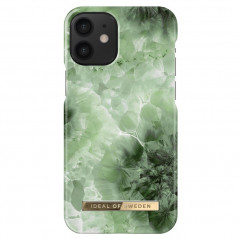 Coque rigide iDeal of Sweden Crystal Green Sky Apple iPhone 12 MINI