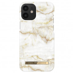 Coque rigide iDeal of Sweden Golden Pearl Marble Apple iPhone 12 MINI