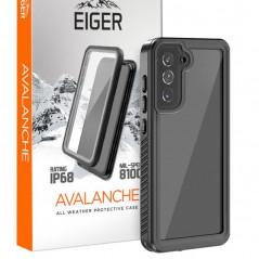 Coque rigide Eiger AVALANCHE Samsung Galaxy S21 5G Noir