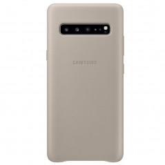 Coque cuir Samsung EF-VG977L Leather Samsung Galaxy S10 5G