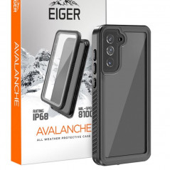 Coque rigide Eiger AVALANCHE Samsung Galaxy S21 Plus 5G Noir