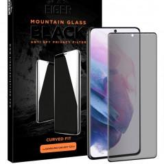 Protection écran verre trempé Eiger 3D GLASS PRIVACY Samsung Galaxy S21 Plus 5G