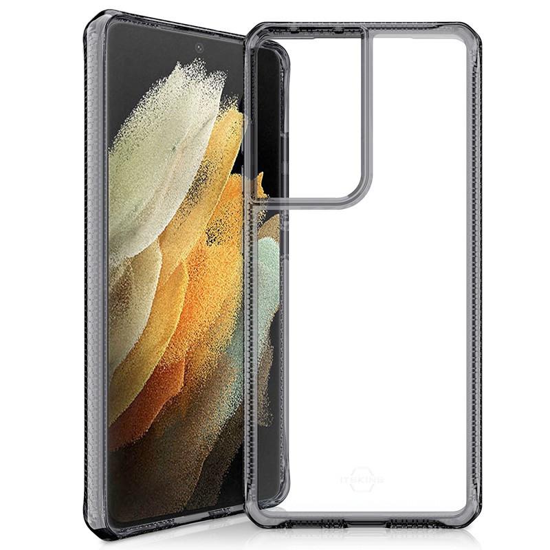 Coque rigide ITSKINS HYBRID CLEAR Samsung Galaxy S21 Ultra 5G Noir