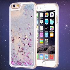 Coque Pailletée Quicksand Star Apple iPhone 6/6S Plus