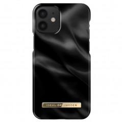 Coque rigide iDeal of Sweden Black Satin Apple iPhone 12 MINI