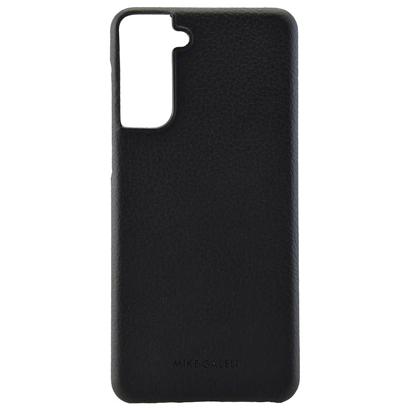 Coque cuir Mike Galeli LENNY Series Samsung Galaxy S21 5G Noir