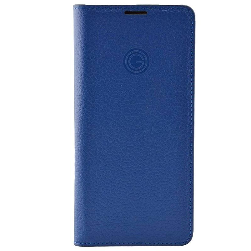 Etui cuir Mike Galeli MARC Series Samsung Galaxy S21 Ultra 5G Bleu