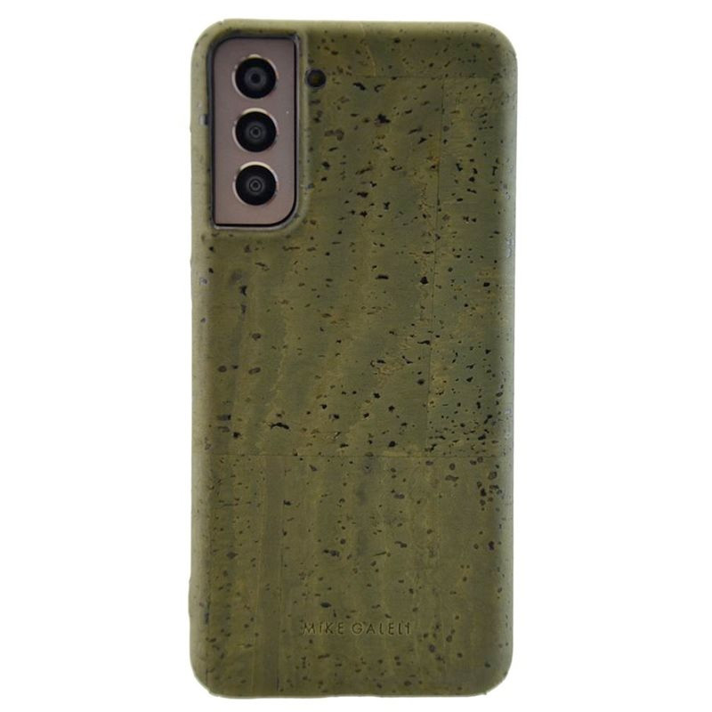 Coque rigide Mike Galeli LEVI CORK BIO Series Samsung Galaxy S21 5G Vert