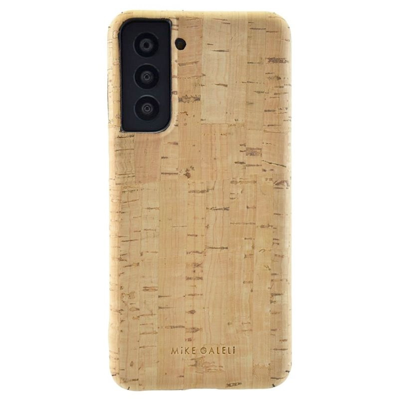 Coque rigide Mike Galeli LEVI CORK BIO Series Samsung Galaxy S21 Plus 5G Beige