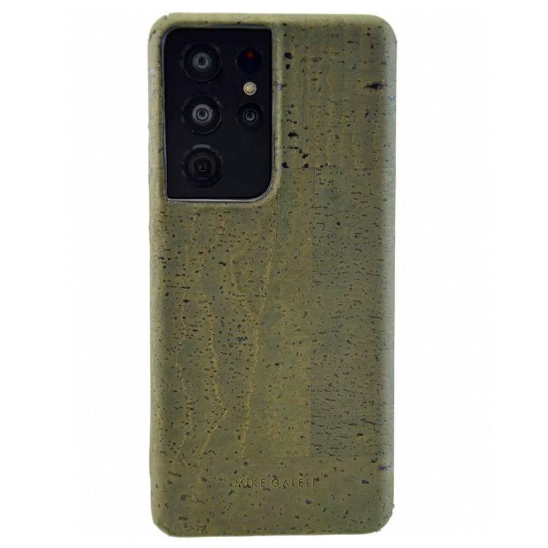 Coque rigide Mike Galeli LEVI CORK BIO Series Samsung Galaxy S21 Ultra 5G Vert