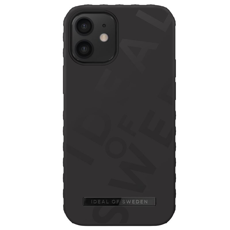 Coque rigide iDeal of Sweden Active Series Apple iPhone 12 MINI Noir (Dynamic Black)