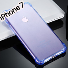 Coque Crystal clear Angles renfoncés Apple iPhone 7