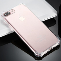 Coque Crystal clear Angles renfoncés Apple iPhone 7 Plus