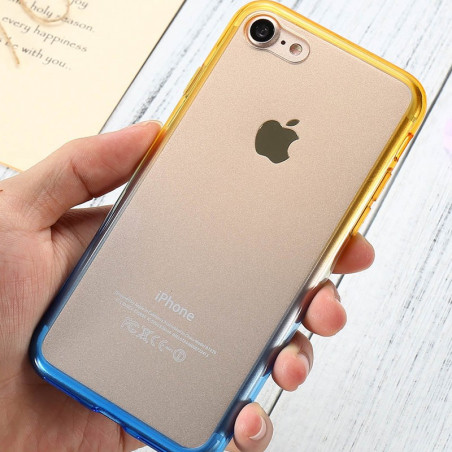 Coque silicone gel GRADIENT Apple iPhone 7/8
