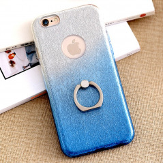 Coque ultra pailletée support bague Apple iPhone 6/6S