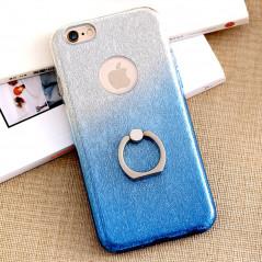 Coque ultra pailletée support bague Apple iPhone 6/6S