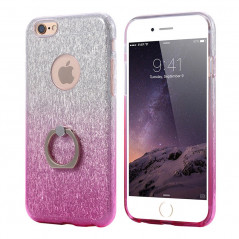 Coque ultra pailletée support bague Apple iPhone 6/6S Plus